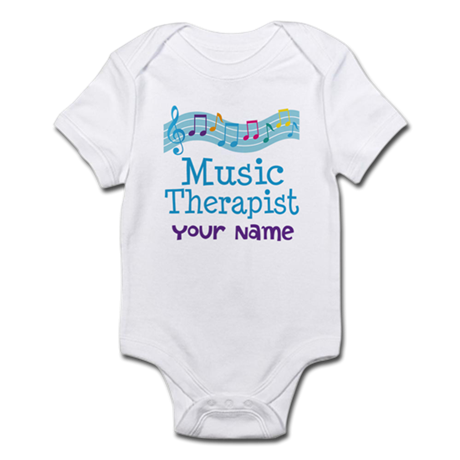 Personalized Music Therapist Infant Bodysuit