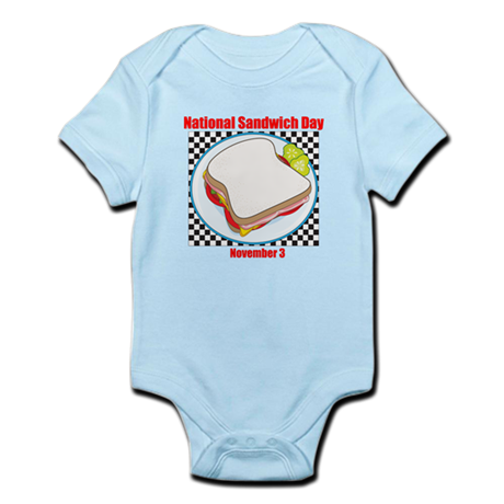 Sandwich Infant Bodysuit