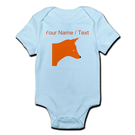 Custom Orange Fox Body Suit