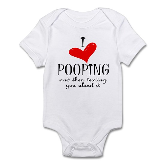 pooping black