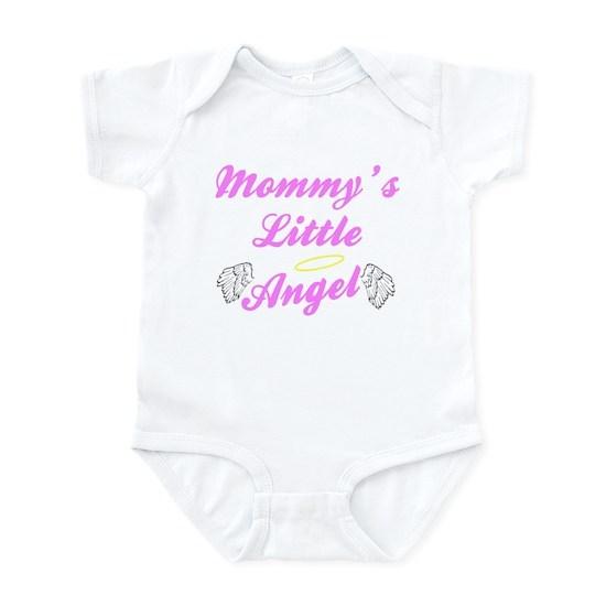 Mommys Little angel bib - girl