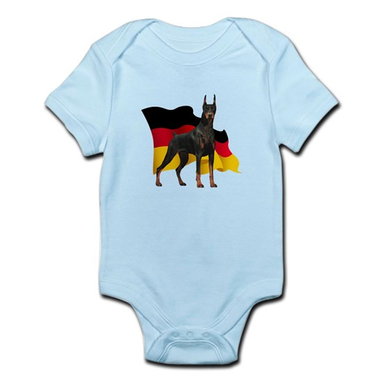 German Flag Doberman