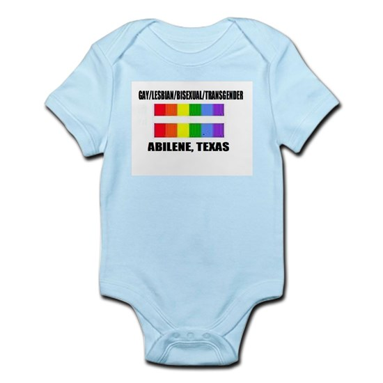 Gay Pride -Abilene Texas Baby Light Bodysuit Gay Pride