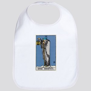 THE HERMIT TAROT CARD Bib