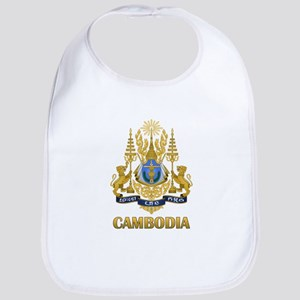 Cambodia Coat Of Arms Bib