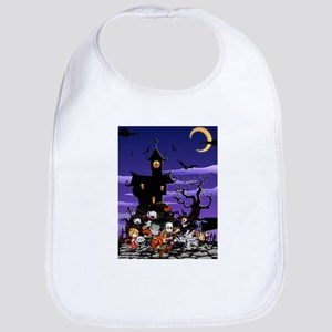 Kids Halloweening Bib
