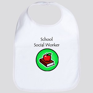 School Social Worker Bib