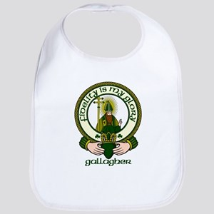 Gallagher Clan Motto Bib