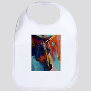 Graffiti This, Horse Abstract Pop Art Painting Bib