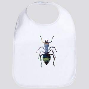 Colorful Ant painting Bib