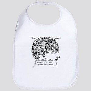 know thyself phrenology head Baby Bib