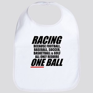 Racing is the only real sport Bib