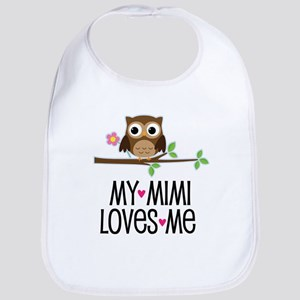 My Mimi Loves Me Baby Bib
