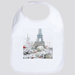 Winter in Paris Bib