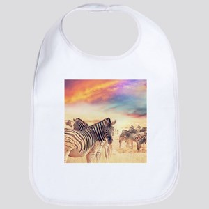 Beautiful Zebras Bib