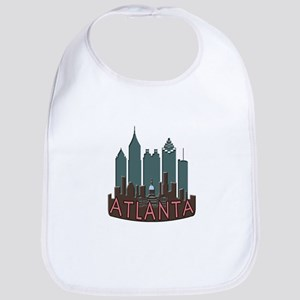 Atlanta Skyline Newwave Chocolate Bib