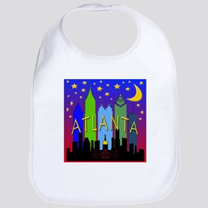 Atlanta Skyline nightlife Bib