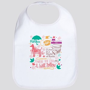Gilmore Girls Collage Cotton Baby Bib