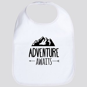 Adventure Awaits Cotton Baby Bib