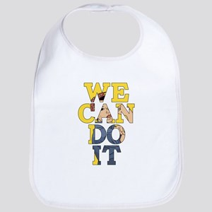 Rosie the Riveter - We Can Do It Cotton Baby Bib
