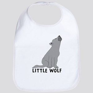 Little Wolf Cotton Baby Bib