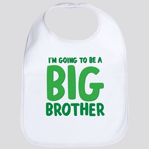 I'm Going To Be a Big Brother Cotton Baby Bib