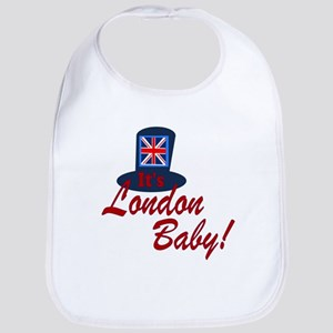 It's London Baby Friends TV Baby Bib