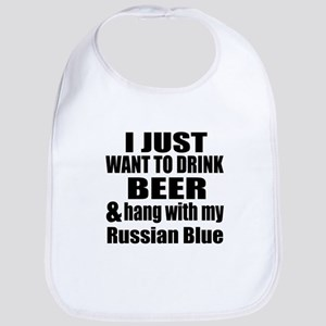 Hang With My Russian Blue Bib