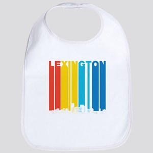 Retro Lexington Kentucky Skyline Bib