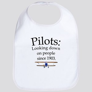 Pilots: Looking down on peopl Bib