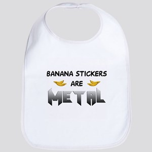 Banana Stickers Bib