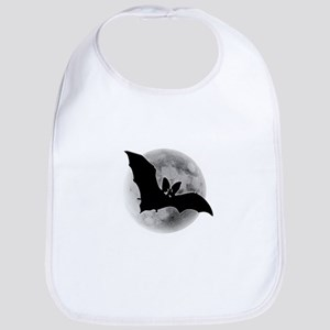 Full Moon Bat Bib