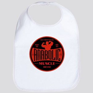 RETRO MUSCLE LOGO Bib