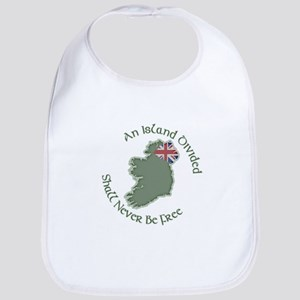 An Island Divided Bib