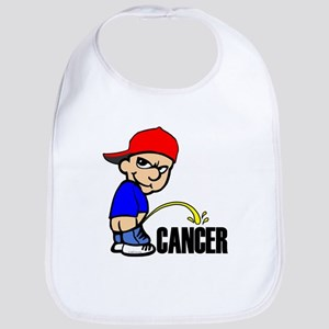 Piss On Cancer Bib