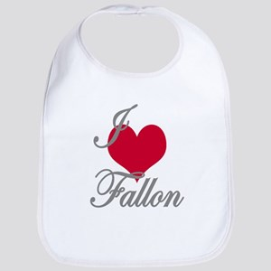 I love (heart) Fallon Bib
