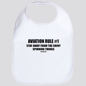AVIATION RULE #1 Bib
