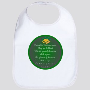 An Irish Christmas Blessing Bib