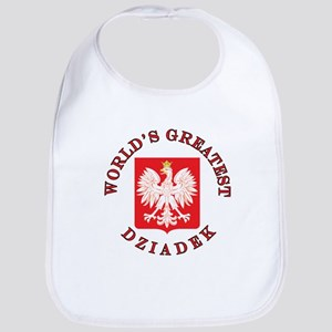 World's Greatest Dziadek Crest Bib