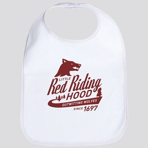 Little Red Riding Hood Since 1697 Bib