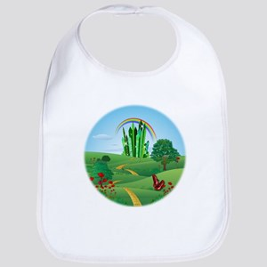 Wizard of Oz Emerald City Bib
