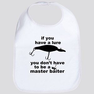 Fishing humor Bib