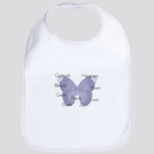 Inspirational Butterfly Bib