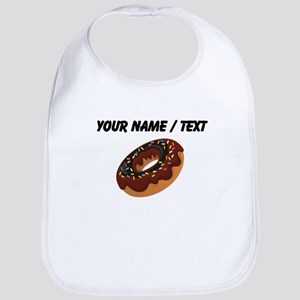 Custom Chocolate Donut Bib