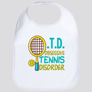 Funny Tennis Cotton Baby Bib