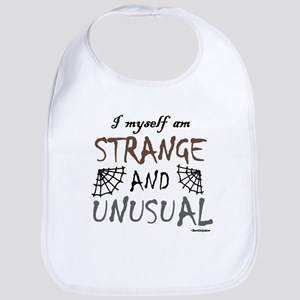 'Strange & Unusual' Bib