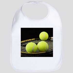 Tennis Balls And Racquet Bib
