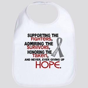 © Supporting Admiring 3.2 Brain Cancer Shirts Bib