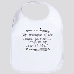 Greatness From Birth Bib