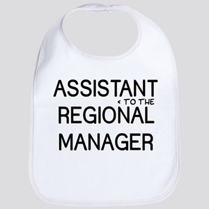 Assistant Manager Cotton Baby Bib